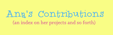 Ana's Contribution Page banner