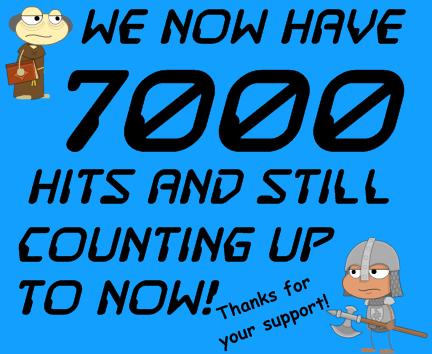7000hits